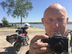 Fra Danmark til Alaska på motorcykel langs Vitus Berings rute