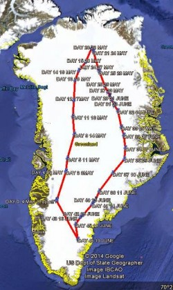 Route Windsledge exped_2014